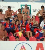 La gioia dei tifosi rossoblù