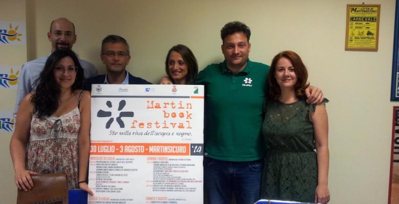 la conferenza stampa di presentazione del Martinbook festival (foto Valeri)