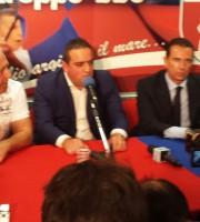 Da sinistra Gianni Moneti, Manolo Bucci e Fabio De Lillo