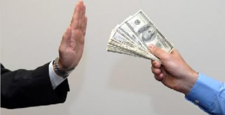 No alla corruzione