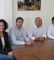 Da sinistra Fioravanti, Luciani, Lucciarini e Ruggieri