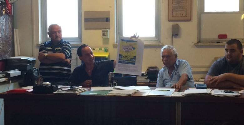 un momento della conferenza stampa della Pro Loco di Martinsicuro
