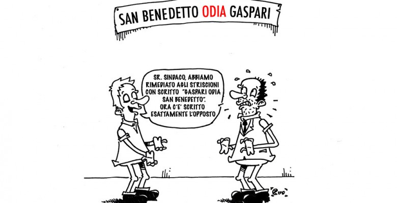 """""""Gaspari odia San Benedetto"""""""