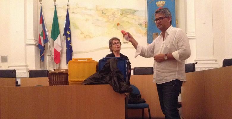 Anna Maria Cerolini e Leonardo Collina
