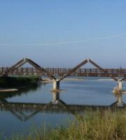 Riaperto il ponte ciclopedonale sul Vibrata