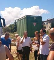 Antenne, protesta in zona Agraria (luglio 2014)