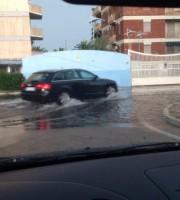 Allagamenti a Porto d'Ascoli