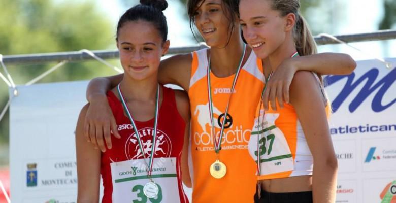 Emma Silvestri sul gradino più alto del podio