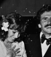 Eufrasia Del Zompo e Maurizio Simonato nel giorno del loro matrimonio