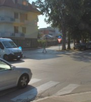 Incrocio viale De Gasperi-via Asiago