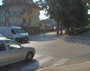 Incrocio viale De Gasperi-via Asiago