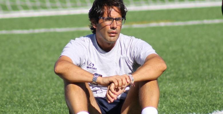 L'attuale tecnico del Grottammare calcio Lugi Zaini jpg