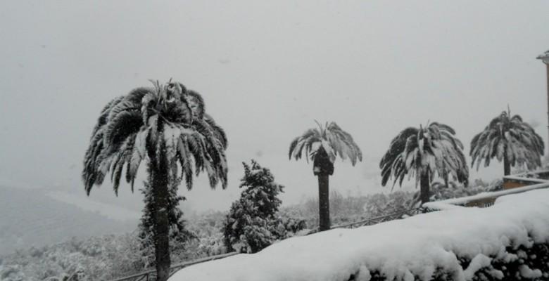 Neve a Monteprandone negli anni precedenti
