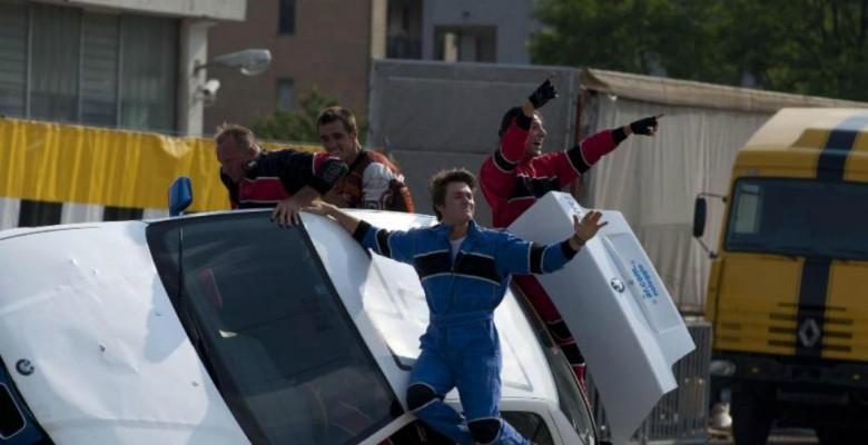 Stunt drivers team