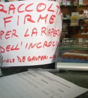 Incrocio Viale De Gasperi, raccolta firme contro la chiusura