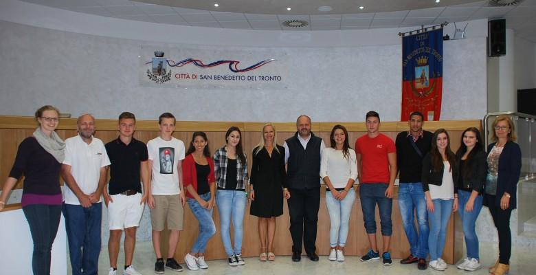 Visita studenti da Steyr
