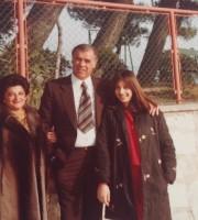 Battista Crescenzi con moglie e figlia