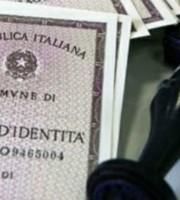 Carte d'identità in formato cartaceo