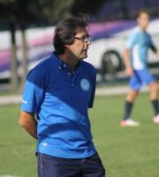 L'attuale  tecnico del Grottammare calcio Luigi Zaini