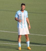 Marco Di Crescenzo attuale capocannoniere del Grottammare calcio con 4 gol all'attivo jpg