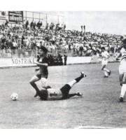 Stefano Borgonovo in goal con la Samb