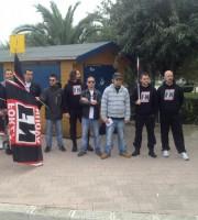 Una manifestazione di Forza Nuova sul territorio di Martinsicuro