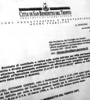 La richiesta di Gaspari al Governo