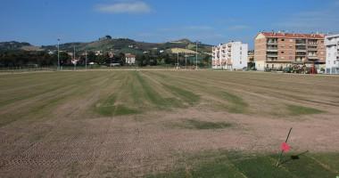 Campo da rugby all'Agraria