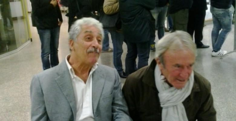 Antonio Guidi e l'ex assessore Franceschini