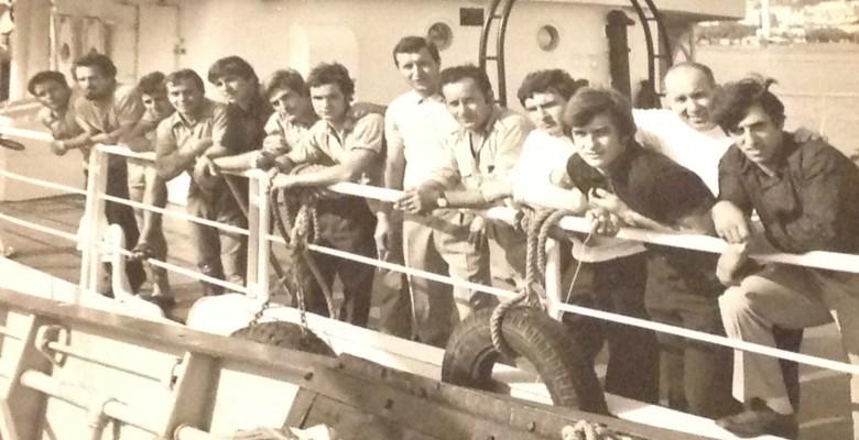 Nicola Silenzi con alcuni colleghi