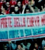 Striscione pro-Samb esposto dai tifosi tedeschi