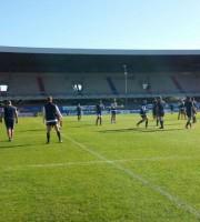 Allenamenti dell'Italia del Rugby allo stadio