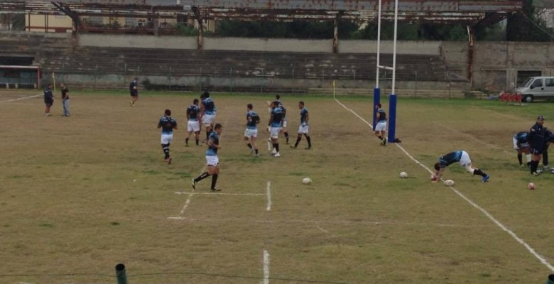 Allenamento Samoa al Ballarin (foto Unione Rugby Sbt)