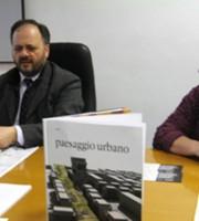 Gaspari con l'architetto Luigina Zazio