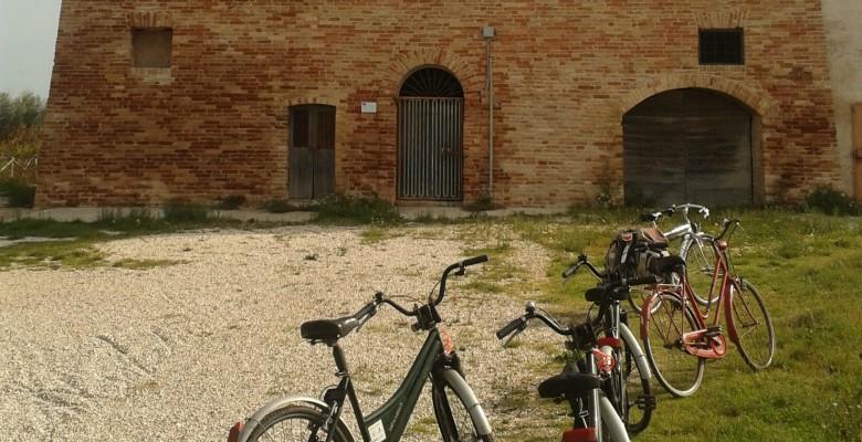 In bici alla Sentina