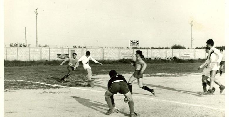 Un'azione di gioco del campionato 1968-69