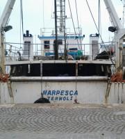 Marpesca Termoli, il peschereccio attraccato a San Benedetto