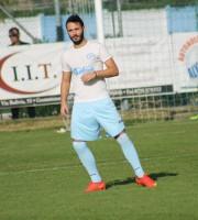 Paride Ruggieri centrocampista del Grottammare calcio Jpg