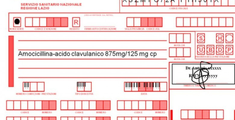 Arriva la ricetta medica on line riviera oggi for Ricette on line