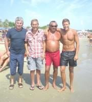 Pietro Rosetti con Giuseppe Ricci, Enzo Staiola e Massimiliano Ossini