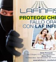 Proteggi la tua casa, con Laf Infissi