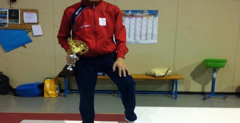 Il giovane atleta