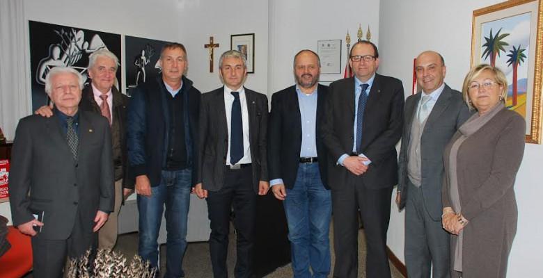 La delegazione del Rotary