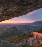 Alba sul monte Ascensione, foto di Lorenzo Sgalippa vincitrice del challenge YouPiceno