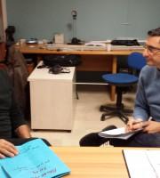 Foto dell'intervista a Sandro Assenti
