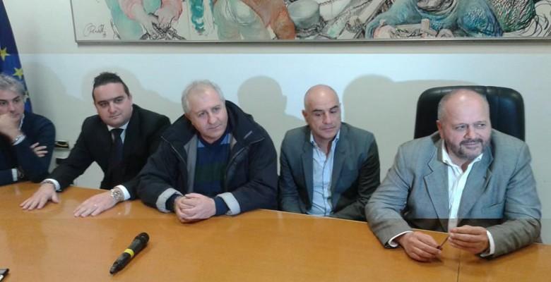 La riunione dei giorni scorsi durante la quale fu  reso pubblico un accordo Samb-Comune