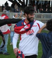 Samb-Matelica 2-0, Pazzi esce con la sciarpa rossoblu al collo