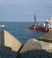 Iniziati i lavori di recupero del motopesca Stella Bianca