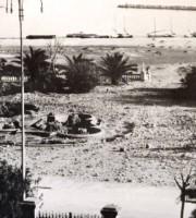 La rotonda di San Benedetto bombardata durante la guerra