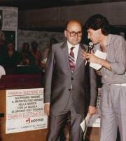 Primo Giocondi a fine anni '70 durante un'intervista